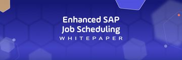 Enhance SAP Job Scheduling Whitepaper Download Purple Background