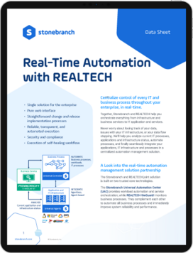 Realtime Automation Management with Realtech Screenshot Download Datasheet