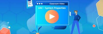 UAC system properties header - wistia video