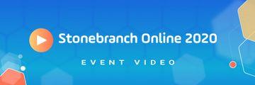 Stonebranch Online 2020 Header Resource Video Thank You Blue BackGround