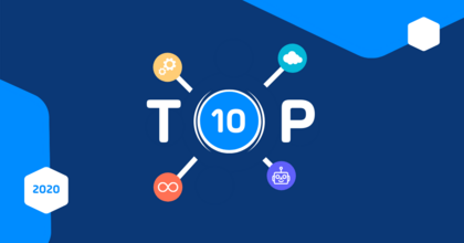 Header IT Automation: Most Popular Research - TOP 10 - 2020