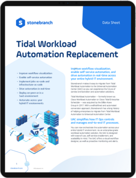 Replace Tidal WLA - Alternative - Screenshot Header Datasheet