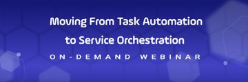 Top 2021 IT Automation Trend: Moving from Task Automation to Service Orchestration purple