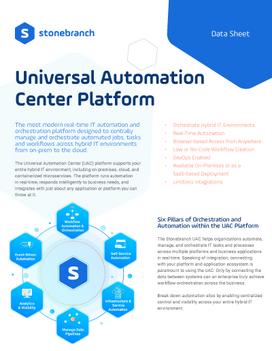 Universal Automation Center (UAC) Platform Data Sheet