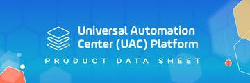 UAC Platform Data Sheet Header - Six pillars of IT Orchestration