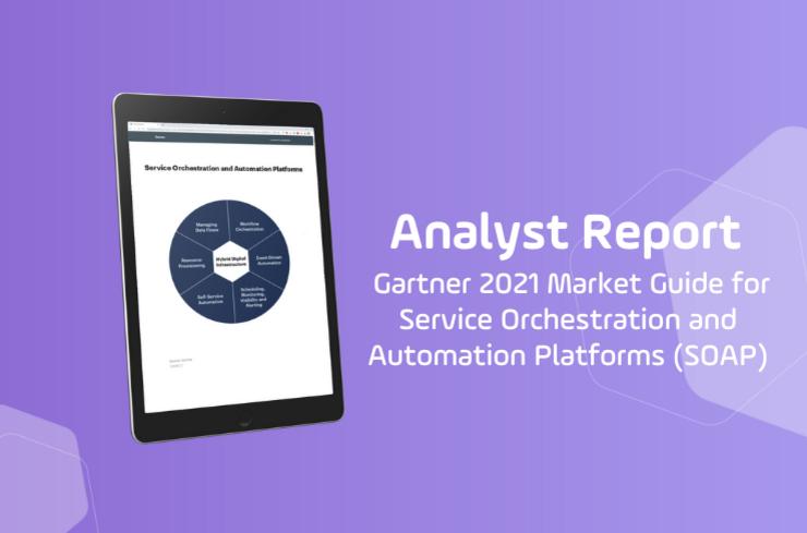 Gartner Market Guide Service Orchestration and Automation Platforms SOAP slider image