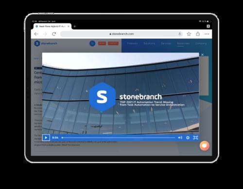 TOP 2021 IT Automation Trends Header IPAD screenshot webinar recording