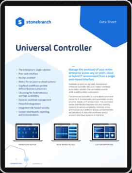 Datasheet Screenshot Universal Controller Download