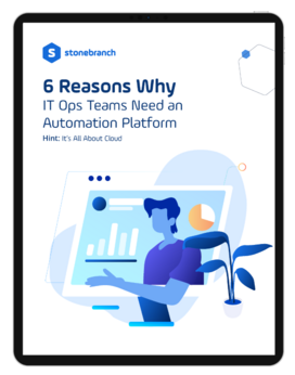 Download Whitepaper 6 Reasons Why IT Ops Teams Need An Automation Platform Screenshot